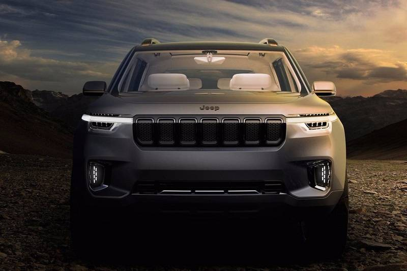 jeep 7 seater suv image