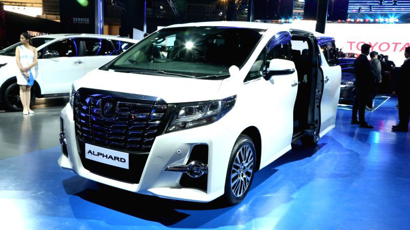 New Toyota Alphard Hybrid image