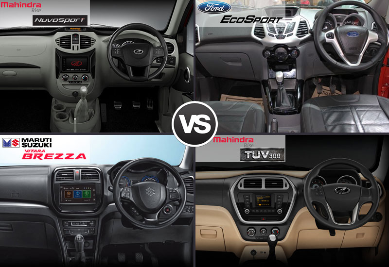 NuvoSport-VS-EcoSport-VS-Vitara-Brezza-TUV300-interior