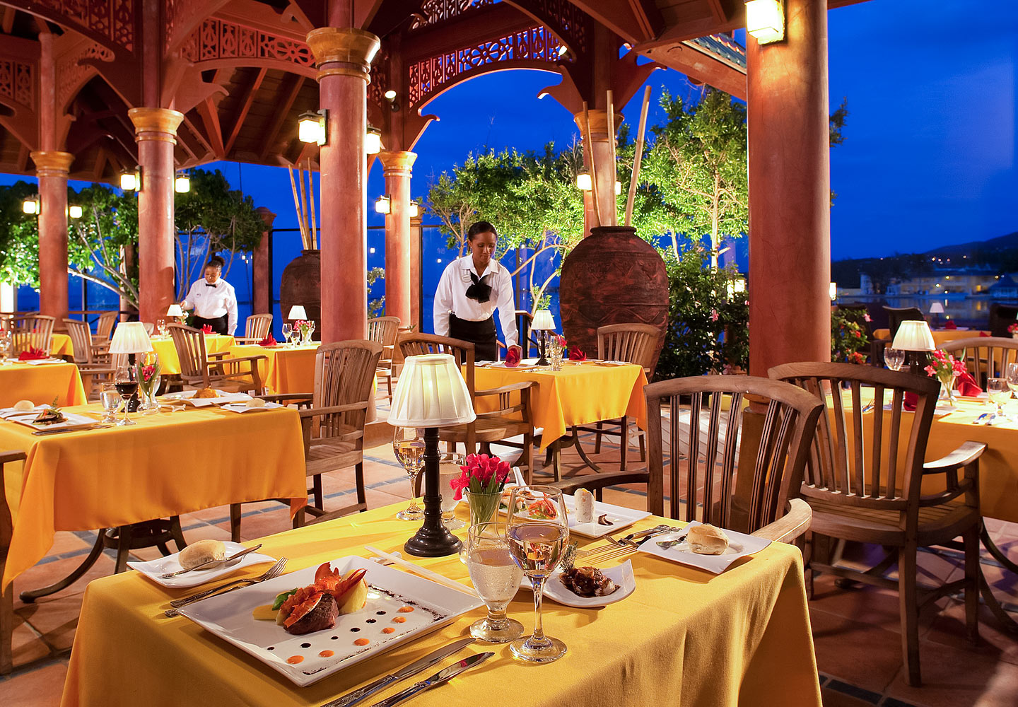 Royal Thai Dishes at Sandals Island