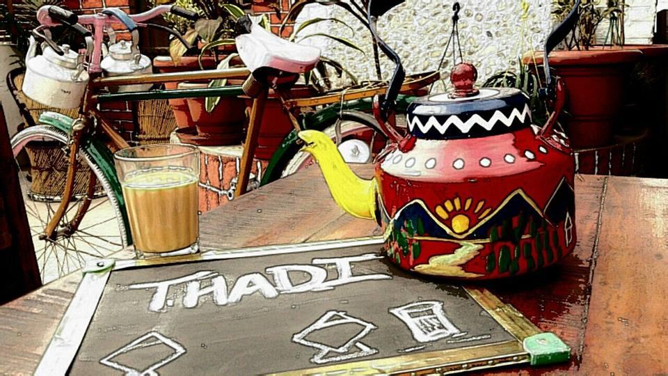 Thadi Teas Lounge Jaipur