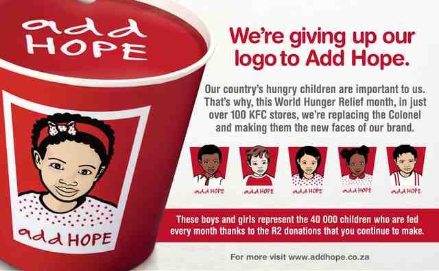 Add HOPE by KFC India