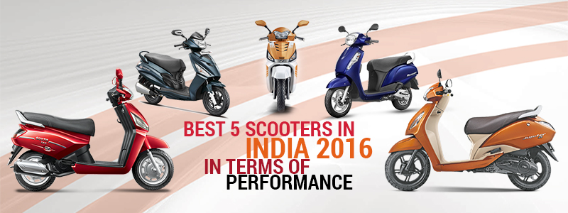best 5 scooters india