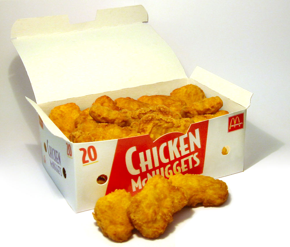 New Recipe for Chicken McNuggets