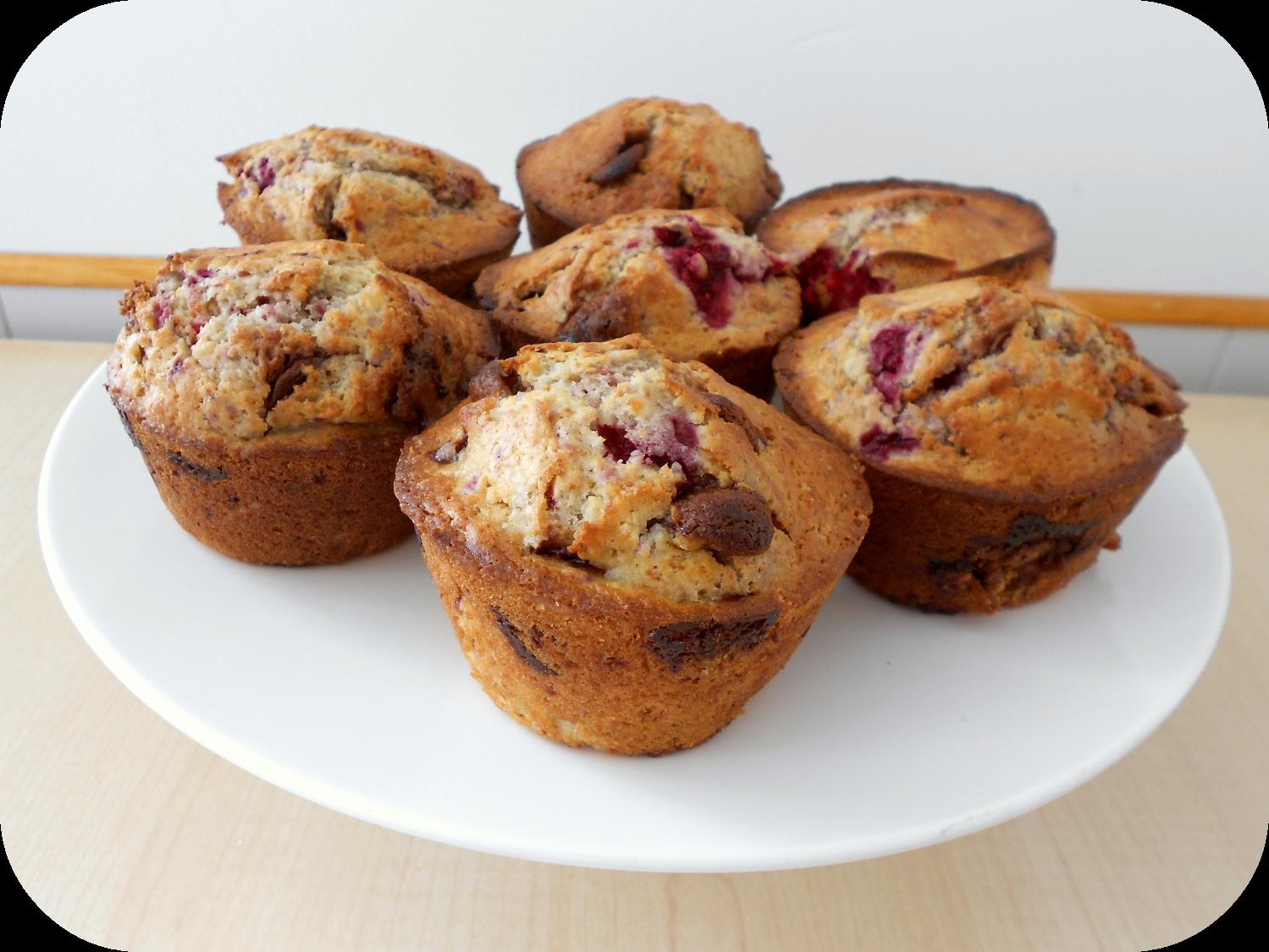 Choc Raspberry Muffins