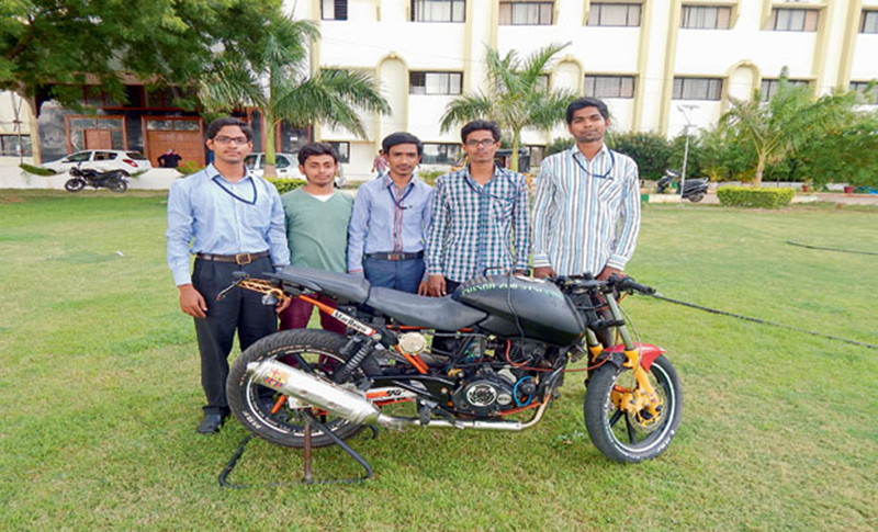 cng fuel invention motorcycle