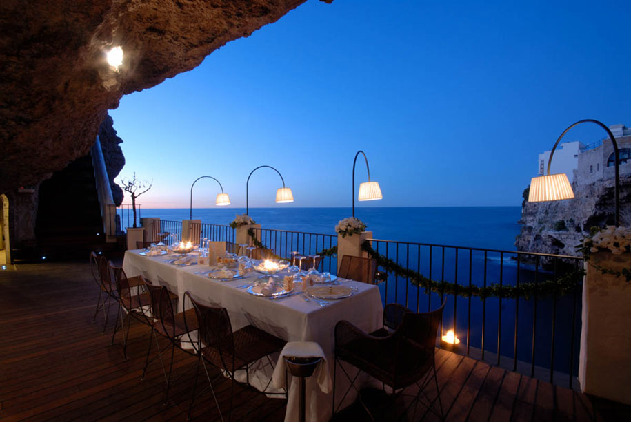 Perfect dine-out for the marine lovers