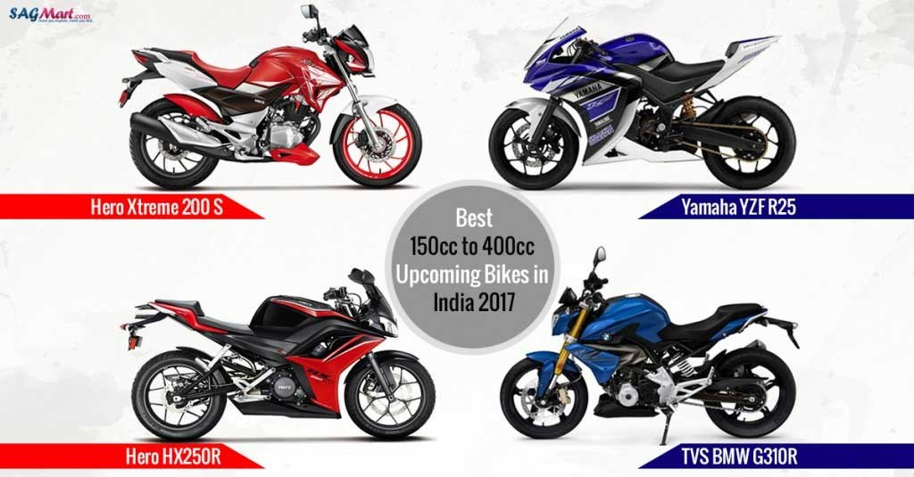 150cc to 400cc Forthcoming Motorcycles