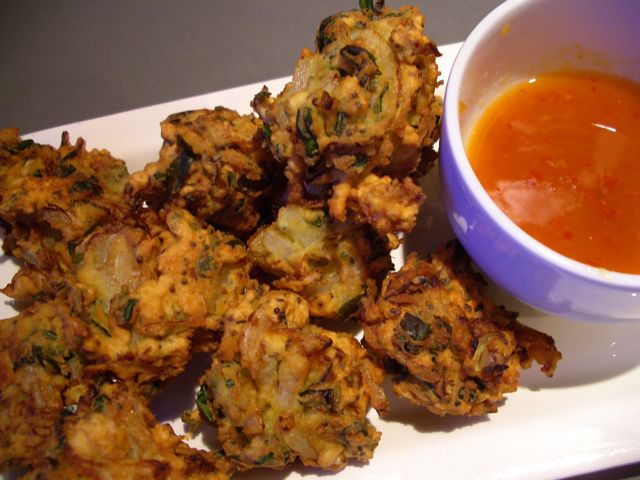 Chicken Onion Pakora
