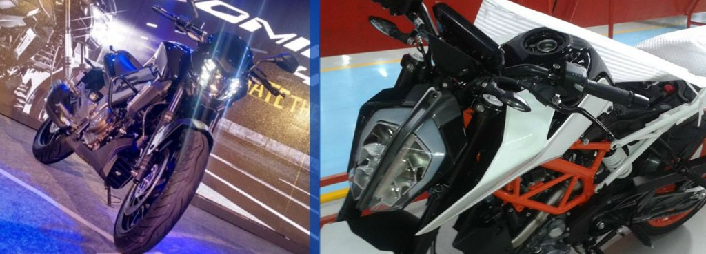 pulsar-vs400-vs-duke-390-design-and-style