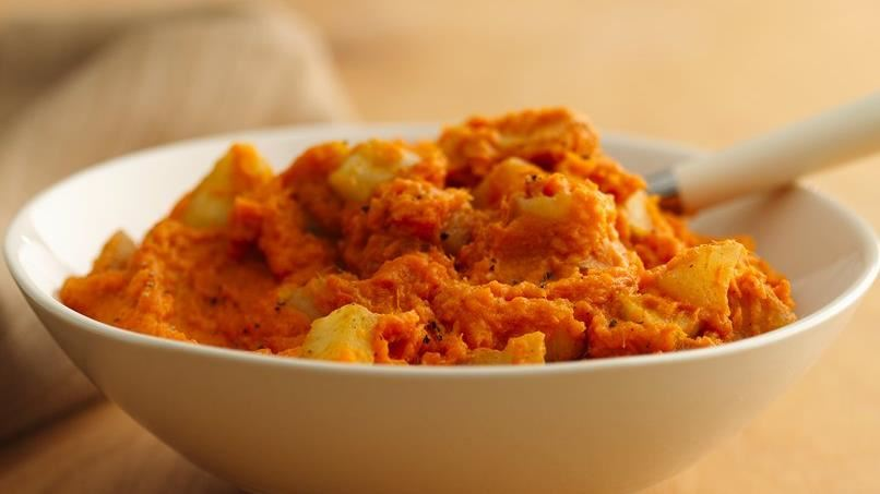 Sweet Potato Apple sauce Mash
