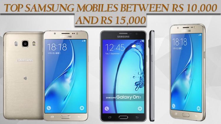 Top Samsung Mobiles