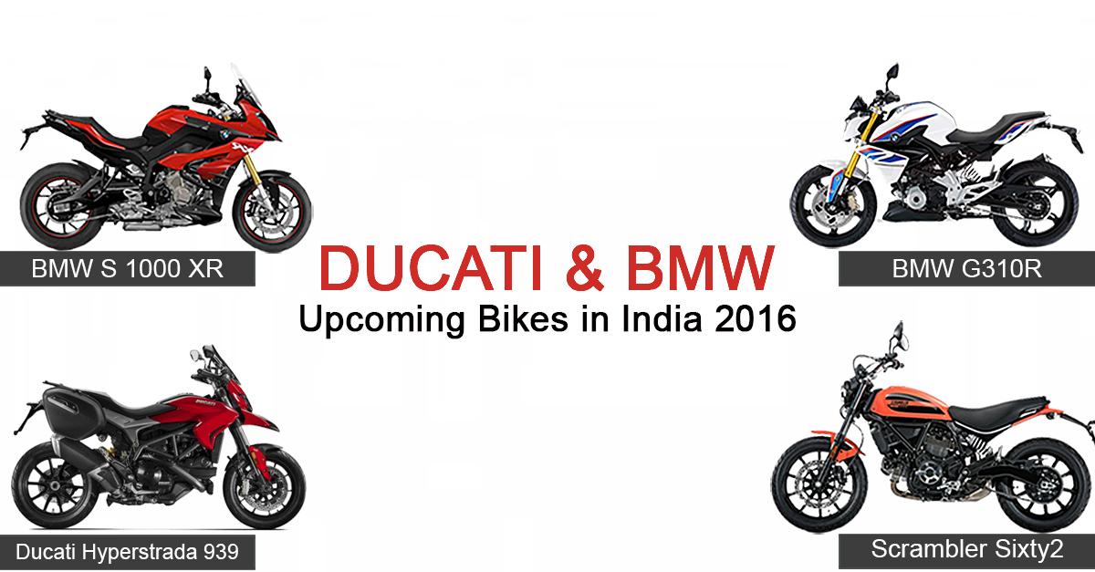 Ducati and B... Ducati Bikes In India