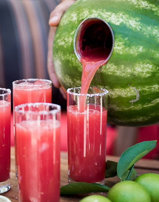 Watermelon Margarita Drink