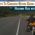 highway ride safety tips