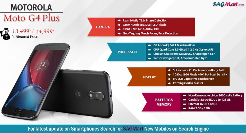 Motorola Moto G4 Plus Infographic