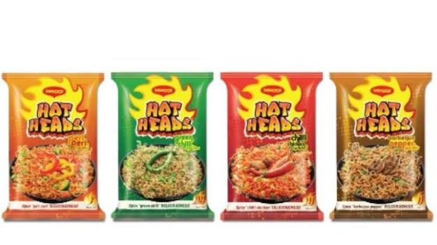 Nestle Hot Heads New Flavors