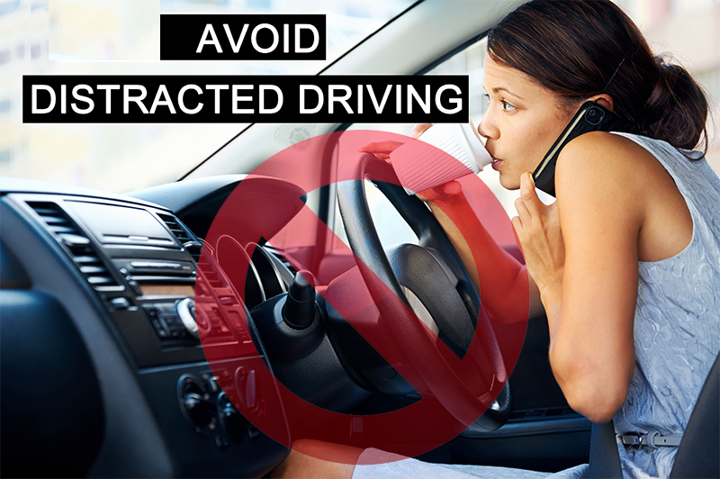 Avoid distructed driving