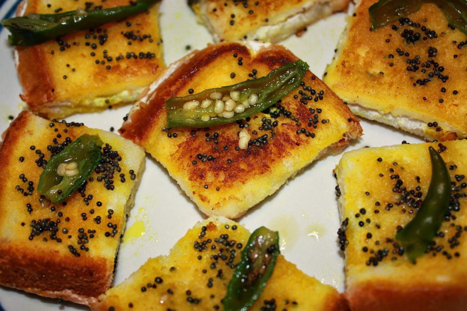 Dahi Bread Dhokla Recipe
