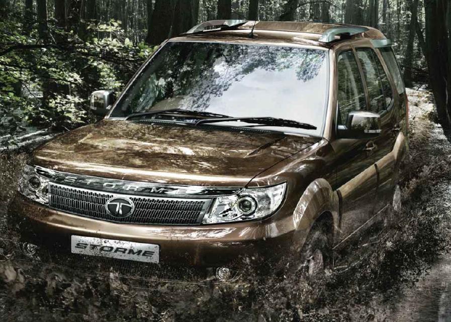 Tata Safari Storme Off Road