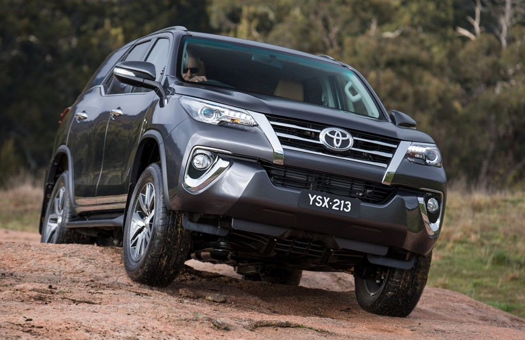 Toyota Fortuner Off Road