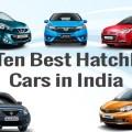 Top ten best hatchback cars in India
