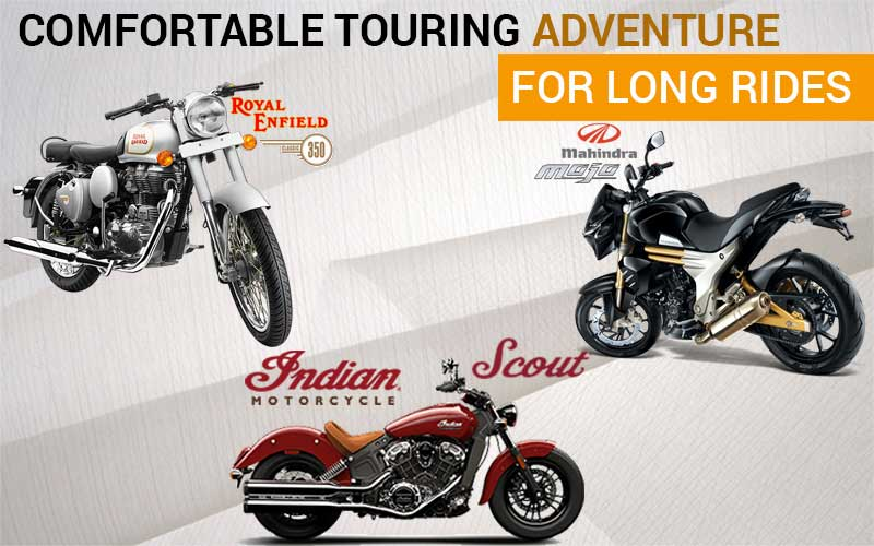 Comfortable Touring Motorcycles