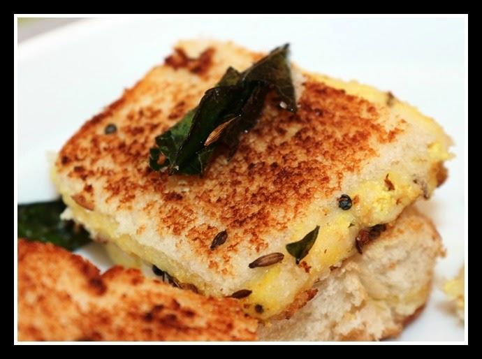 Dahi Bread Dhokla