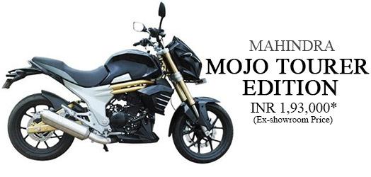 Mahindra Mojo Tourer Edition