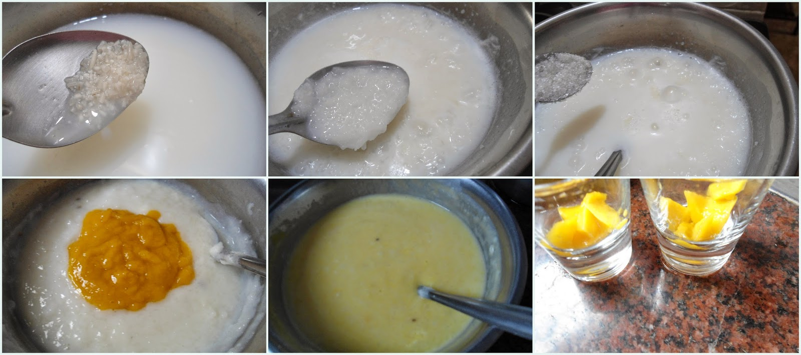 Mango Phirni Recipe Ingredients