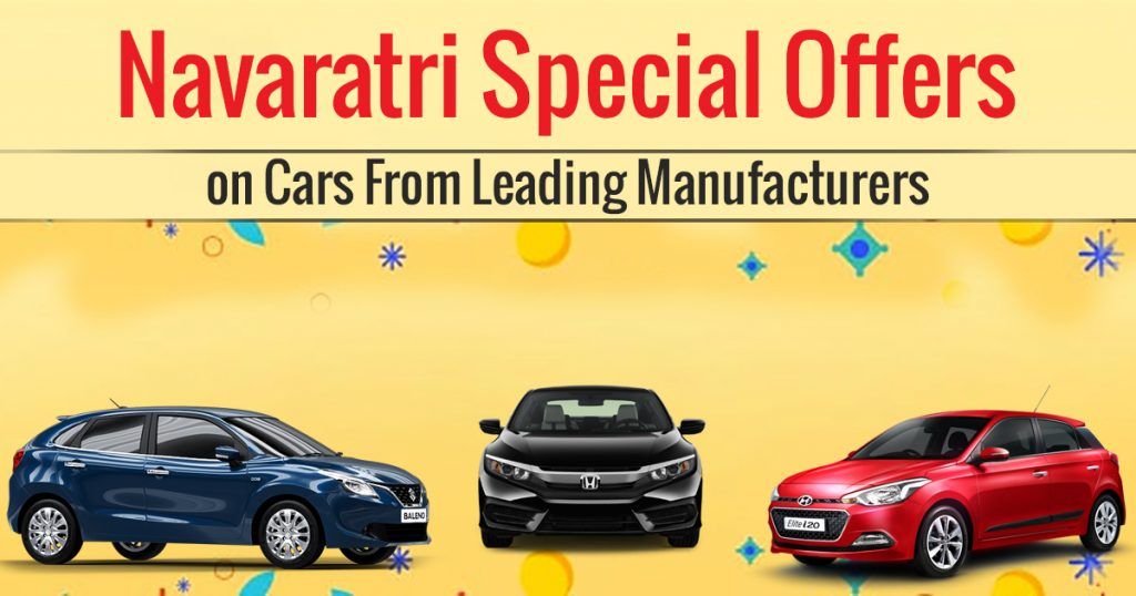 Navaratri Special Offers on Cars