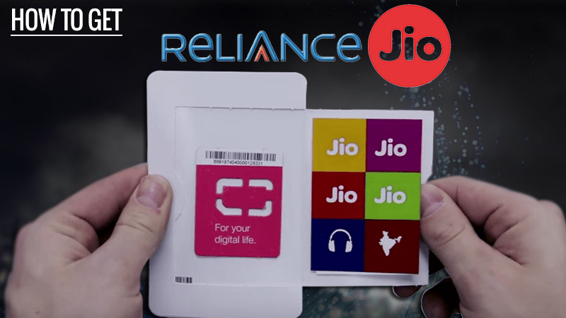 reliance jio 4G installation