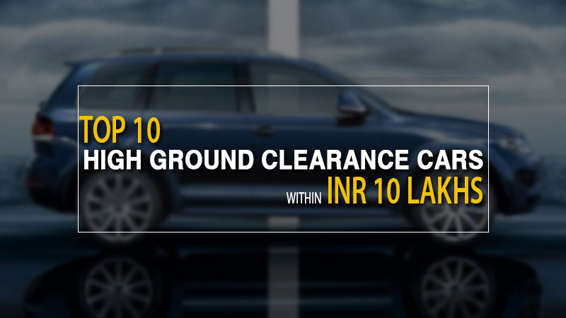 Top 10 High Ground Clearance Cars