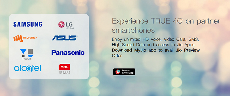 jio 4G supported smartphones