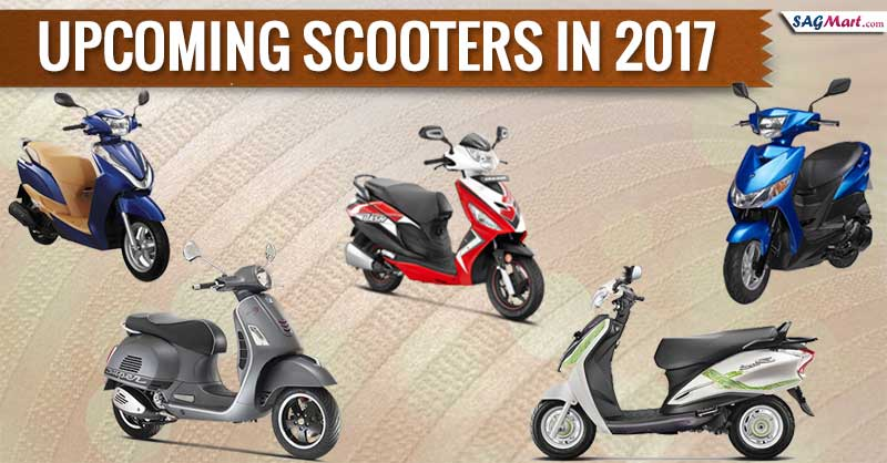Upcoming Scooters in 2017