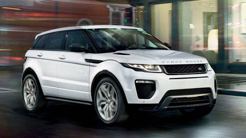 2017 JLR Range Rover Evoque