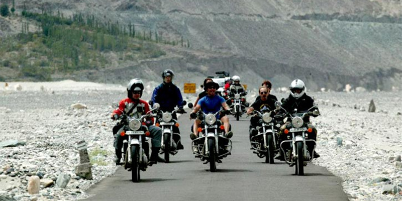 ten destinations bike riders india