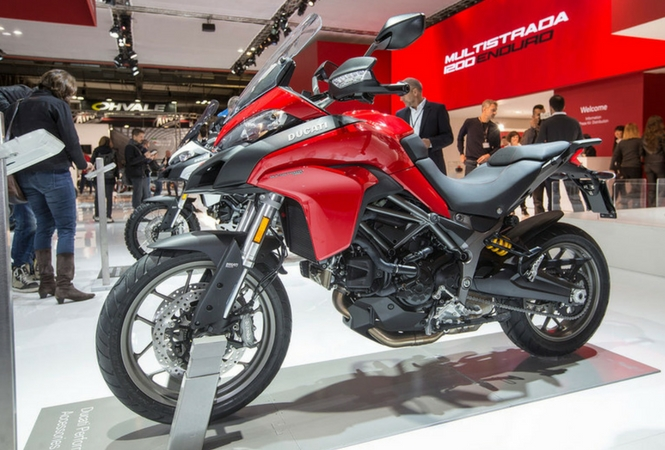 The Ducati Multistrada 950