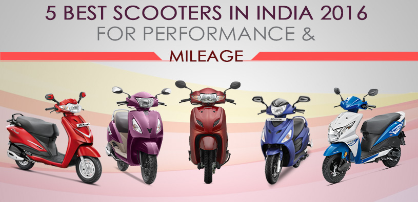 5 Best Scooters in India 2016