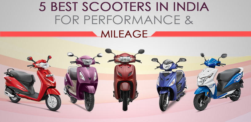 5 best scooters in india 2017