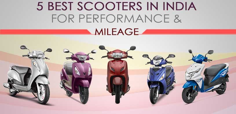 Best Scooters in India 2017
