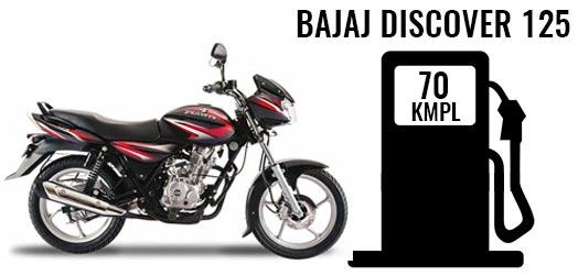 Bajaj Discover 125 Disc 2018