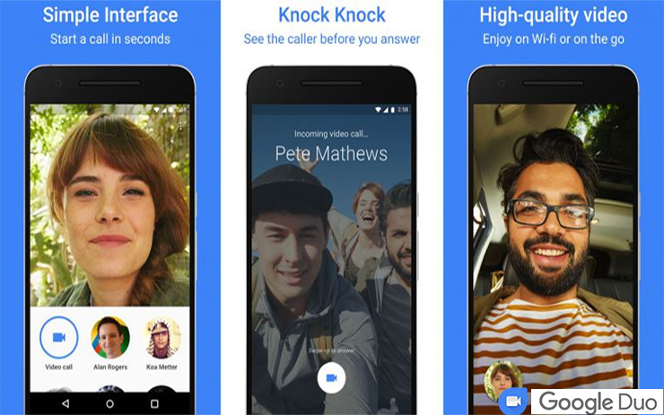 google duo video calling app