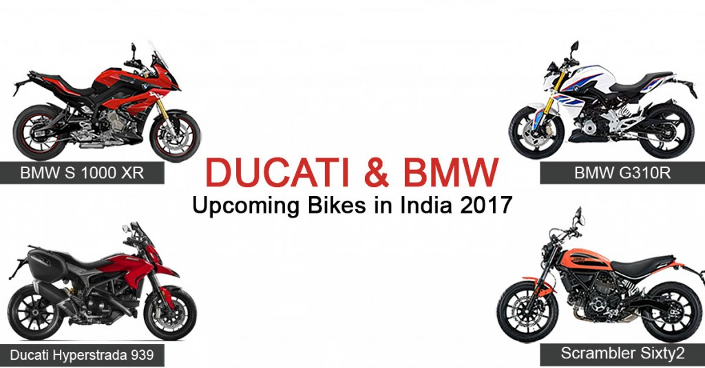 Ducati and BMW Upcoming Bikes