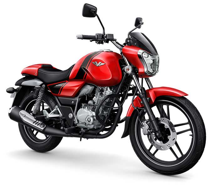Bajaj Vikrant Heroic Red