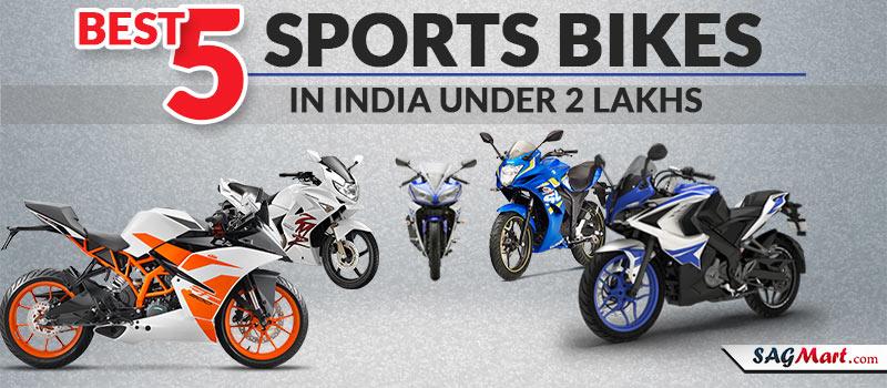 Sports Bikes Under 2 Lakh