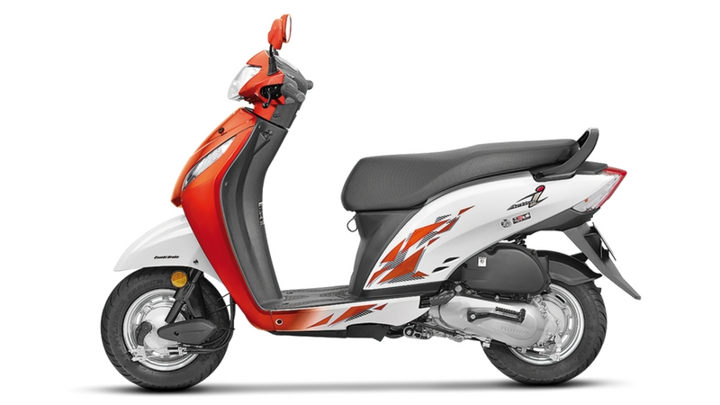 honda-activa-i-neo -orange-metallic