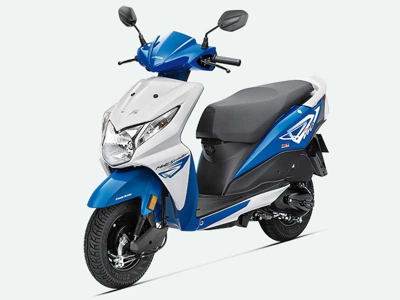 Honda Dio Candy Jazzy Blue Scooter