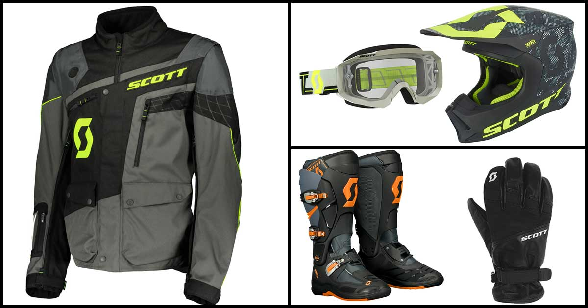 Scott Riding Gear Range