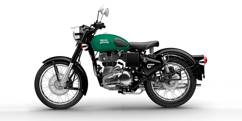 Royal Enfield Redditch Green